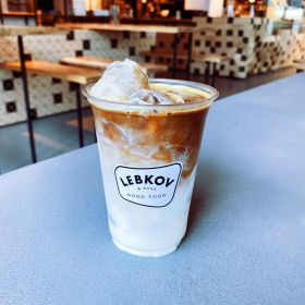 Iced cappuccino.