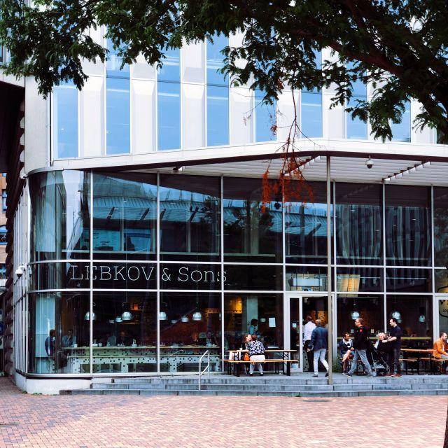 Lebkov Bijlmer Arena Amsterdam Zuidoost.